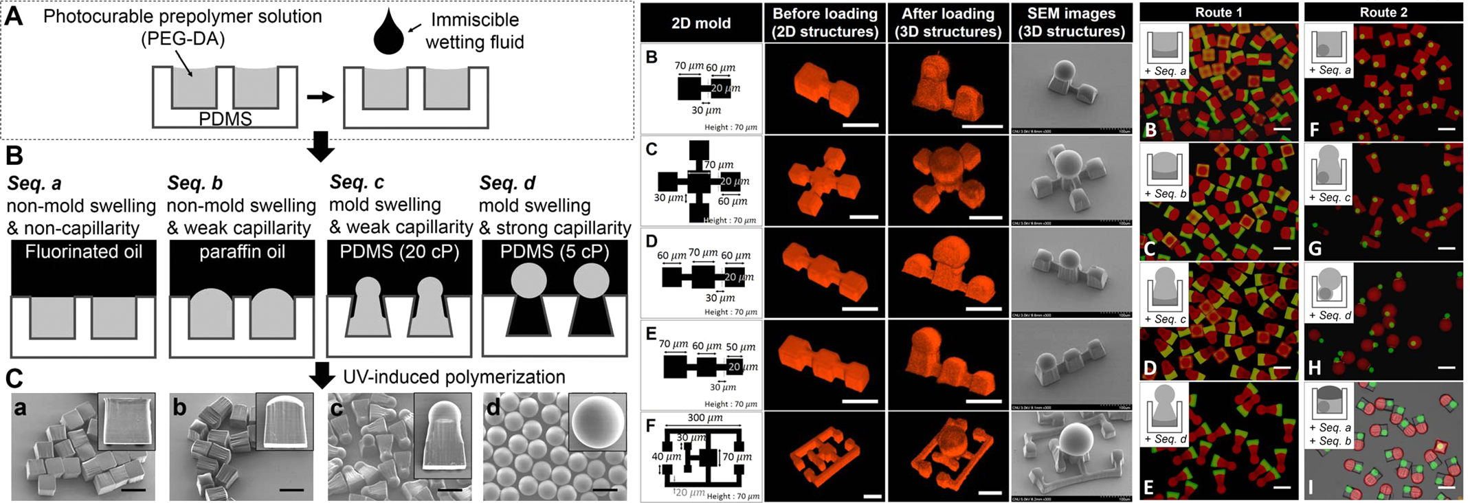 Microfluidic synthesis for complex shaped microfiber